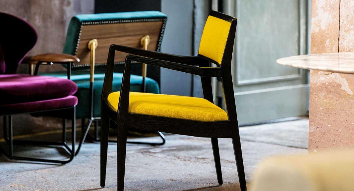 Jens Risom Chair by Stellar Works C140 & C142